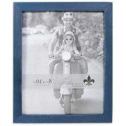 Lawrence Frames Weathered Woods 4x6 Charlotte Navy Blue Pict