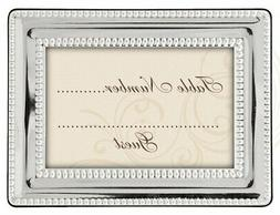 Malden International Designs Wedding Place Card Holders Silv