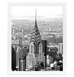 Americanflat 16x20 White Poster Frame with Plexiglass Front
