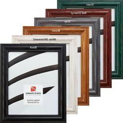 """Craig Frames Wiltshire, Solid Wood Picture Frame, 1.25"""" Wide"""