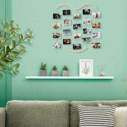 Wooden Picture Photo Collage Frame Wall Hanging Display Fram