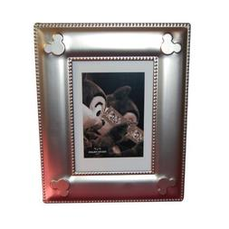 Disney World Exclusive Mickey Mouse Icon Silver Metal Photo