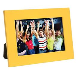 "Yellow 4"" x 6"" Picture Frame - Case of 12"