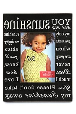 Green Tree Gallery You Are My Sunshine Photo Frame, Black an